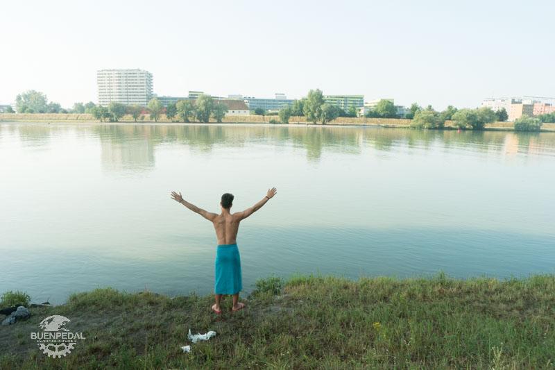 Saludando al Danubio