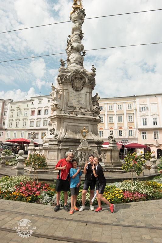 Plaza central de Linz